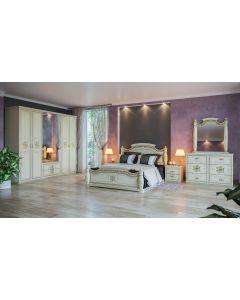 Chambre à coucher JASMINE WHITE