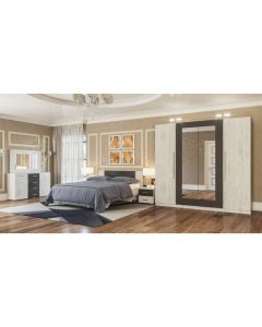 Chambre à coucher LILEA ALASKA 180