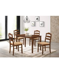 table de salle à manger CANDY STARTER (4 chaises)