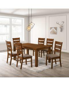 Table de salle à manger lynwood (6 chaises)