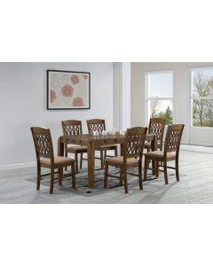 Table de salle à manger PANADORA (6 chaises)