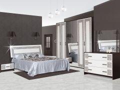Chambre à coucher BASIA NEW OLYMPIA (6 portes)