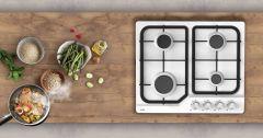 Table cuisson IRIS blanche